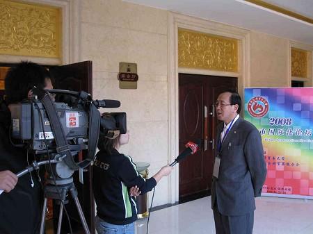 付宝华院长接受北京电视台专访