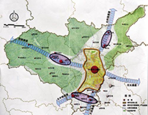 太原市重工业产业结构图