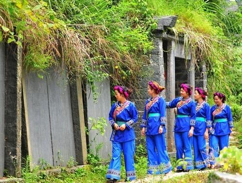 贵州天柱三门塘旅游