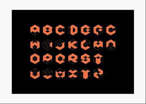创意字母 谈字母设计中的文化创意图片