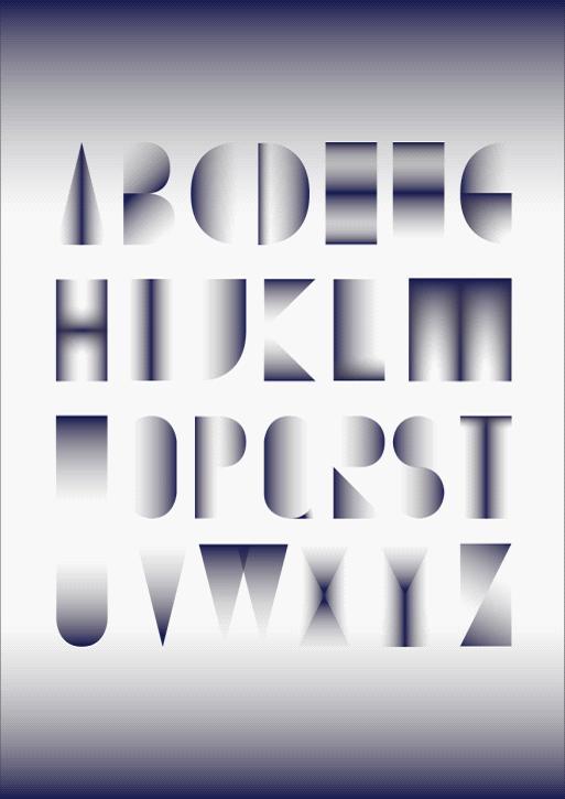 字母设计是平面设计的重要部分,作为设计界的常青树-北京神笔形象设计中心,他们的设计师巧妙的将各种文化元素注入到字母设计中去,赋予简单的英文字母神奇的文化魅力。下面是他们带来的几套设计方案。倾注了设计师们对图形的深刻理解和对生活的深切感悟,同时全面彰显设计师的个性。   一、青花瓷字母设计    青花瓷器可以说是艺术品市场的宠儿,设计师在这款字体设计中将这种白底蓝花的青花瓷元素融入到设计当中。   运用中国传统图案重新拼接,在字形上仍是典型的西方字体,保证辨识性,同时使这种文字在感观上处于中西方之间,既