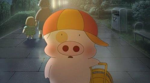 小猪麦兜的形象