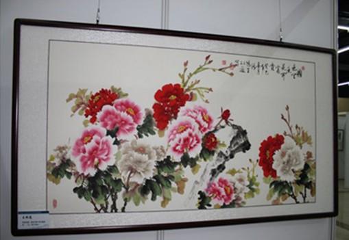 强大中国梦绘画作品