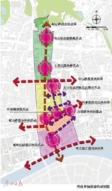青岛市中山路老城区规划图