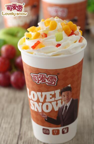 倒春寒难挡吃货的热情,可爱雪冰淇淋与您相约