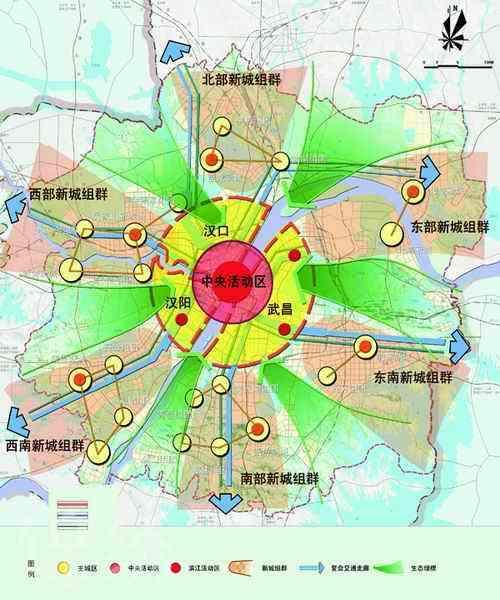 5700个工地背后2 都市发展区空间结构图