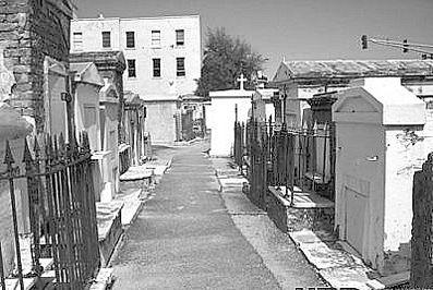 圣路易斯坟场,位于美国新奥尔良